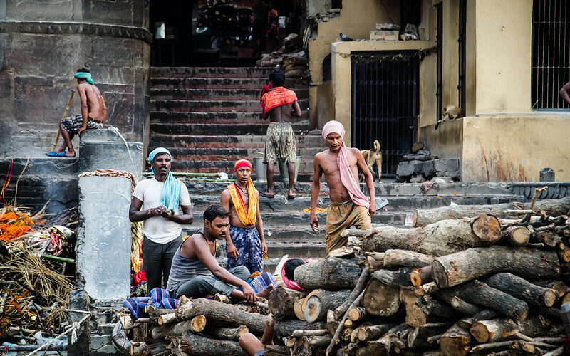Untouchables in Varanasi/Luisen Rodrigo, Flickr